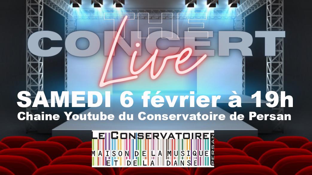 Concert Live le 06 février 19h